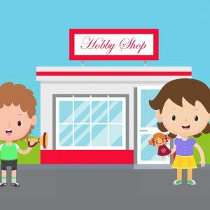 Hobby Shop Moment